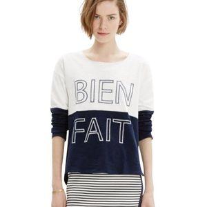 Madewell Bien Fait Sweatshirt